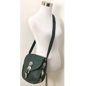 Vintage Brighton Western Leather Saddle Bag